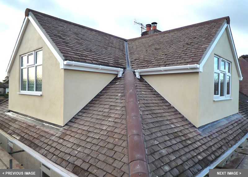 small attic remodel before and after - Dormer loft conversions in Bristol & Bath Skyline Loft
